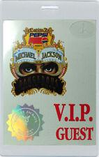 MICHAEL JACKSON 1992 LAMINATED BACKSTAGE PASS VIP