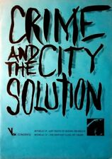CRIME AND THE CITY SOLUTION - 1986 - Tourplakat - Just South of Heaven - Poster