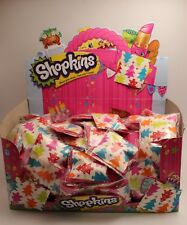 Shopkins Season 1 - 10 x Surprise Bags - New - sealed in Christmas themed bags!