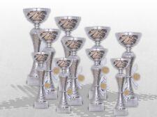 10er Pokalserie Pokale Skylon mit Gravur und Emblem günstig kaufen Pokale silber