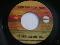 New Colony Six Long Time to be Alone 1971 45rpm PROMO