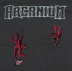 Arcanium Gray Concert T-Shirt - 2010 Tour - 2XL