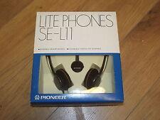 Pioneer SE-L11 Stereo Vintage Headphones NEW Made in Japan