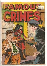 FAMOUS CRIMES #51