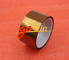 5cm 50mm x 30M Tape Sticky High Temperature Heat Resistant Polyimide Kapton top