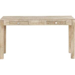 Made to Order Vivid Sahara ContemporaryMango Console Hall Table Study Desk 135cm