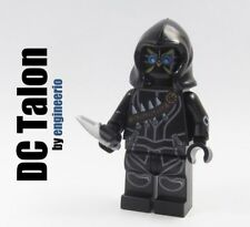 Custom minifigures -- Talon -- DC batman on lego bricks