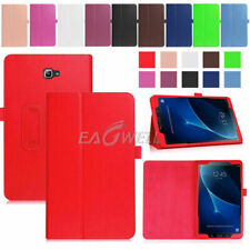 "For Samsung Galaxy Tab 2/3/4 E A S2 S3 7~10.1"" Magnetic Leather Smart Cover Case"