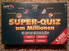NEW - SUPER QUIZ UM MILLIONEN 2001 (IN GERMAN) Table Quiz Game NORIS SPIELE