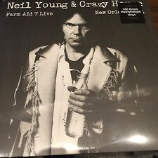 NEIL YOUNG & CRAZY HORSE 'FARM AID 7 LIVE NEW ORLEANS 1994' Vinyl LP NEW SEALED