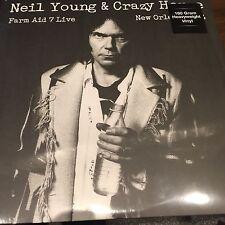 Neil Young & Crazy Horse 'Farm Aid 7 Live Nueva Orleans 1994' Vinilo Lp Nuevo Sellado