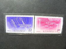 1958 - Romania - Telecommunication Conference From Moscow, MNH