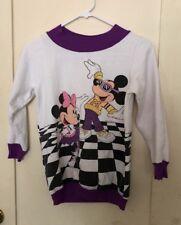 Vintage Disney Jog Togs Mickey & Minnie Disco Sweatshirt Youth