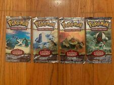(4) Pokemon TCG EX: Hidden Legends Booster Packs