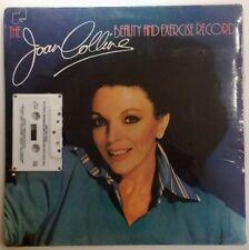 Joan Collins Beauty Exercise Cassette Album Rare VHTF Sealed Vtg 1985 Janus JXS-