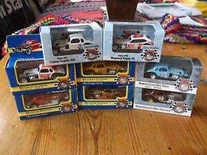 ertl/nutmeg collectables.early modified stock cars.x8
