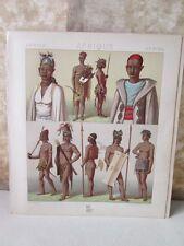 Vintage Print,AFRICA INDIGENE TOMBOUCTOU,Racinet,1888