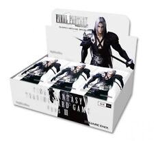 Final Fantasy #3 TCG Opus III Booster Box FFTCG SEALED!!^