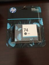 BNIB HP 74 INKJET  black Single unit Original & Sealed Exp 2016
