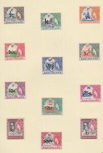 Stamps of Basutoland