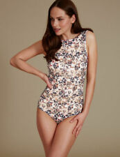 Elastane Floral Sleeveless Lingerie & Nightwear for Women