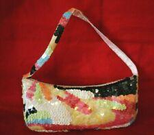 La Regale Colorful Sequined Purse/Hand Bag - Great condition