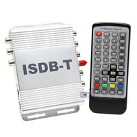 NEW In Car ISDB-T Digital TV Tuner Antenna Freeview Receiver Box MPEG4 ISDBT