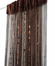 Decorative Door String Curtain Beads Wall Panel Fringe Window Room Divider Blind