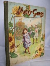 Merry Games - Illustrated HB - Ernest Nister