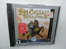 Shogun: Total War - Warlord Edition (PC, 2001) Jewel Case PC NEW SEALED