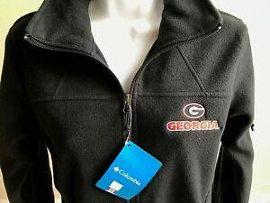 NWT Georgia Bulldogs 2020 Sugar Bowl Women's Columbia Fleece Jacket Blk Licensed