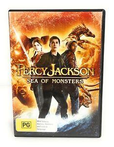 Percy Jackson: Sea of Monsters (DVD, 2013) Logan Lerman Region 4 Free Postage