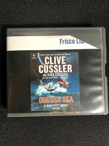 Clive Cussler Odessa Sea Book On CD