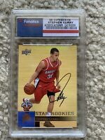 Stephen Curry Rookie Auto Card