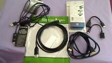 lot of new cables philips HDMI HD( 1080P 4K ULTRA HD )MINI TO HDMI USB 6FT MICRO