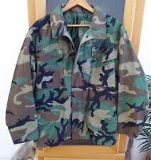 BDU Camo Field Jacket, USAF Size M/R