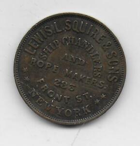 1844-54 New York Merchant Token