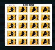 [16623] Netherlands Niederlande 2001 Adress Change 85c/€0,39 MS Sheet MNH # 1998