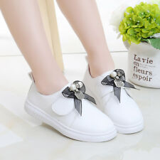 Fashion Autumn Children Dress Shoes Cute Bow-kno Kids Casual Shoes Sneakers