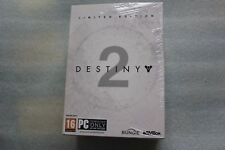 DESTINY 2 LIMITED EDITION Collector's Edition - NEW - PC - RARE !