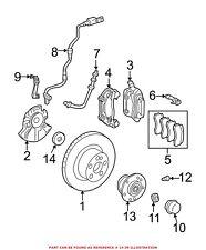 For Mercedes Genuine Wheel Hub O-Ring Right 0259971647