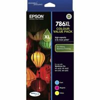 Genuine Epson 786XL Inkjet 3 Ink Cartridge Colour Value Pack C13T787592 WF-4640