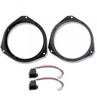 Vauxhall Zafira Front Door Speaker Adaptor Rings Spacers Kit 165mm 6.5""