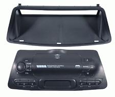 Mascherina con foro ISO colore nero Fiat Bravo >02-Brava-Marea