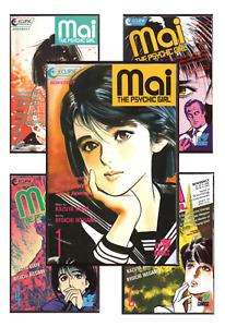 Mai the Psychic Girl #1-28 VF/NM 9.0+ 1987-1988 Eclipse Comics Manga Back Issues