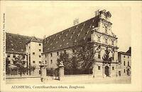 Augsburg Bayern Schwaben AK ~1900 Centralfeuerhaus Feuerhaus Zeughaus ungelaufen