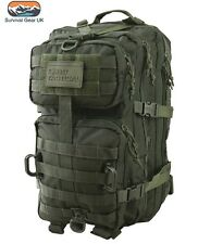 Green Hex Tac Reaper Molle 40 Litre Tactical Pack Assault Bag  Airsoft Militar