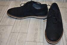Hush Puppies Hayes PT Nubuck Oxfords, Men's Size 9M, Black