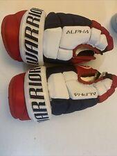 Warrior Alpha Pro Hockey Gloves size 11