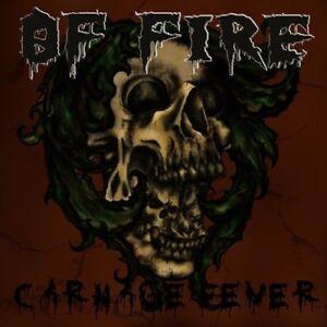 """Of Fire """"Carnage Fever"""" CD [swedish Death Metal, Grave/Asphyx, Tomas Skogsberg]"""